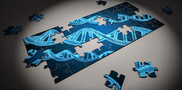 picture of a DNA puzzle to accompany article about whether or not dna websites are bad